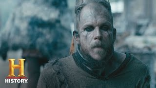 getlinkyoutube.com-Vikings: Floki Begs Helga for Freedom (S4, E1) | History