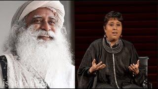 Sadhguru Jaggi Vasudev shuts up Barkha Dutt like a boss, Must Watch for every NATIONALIST