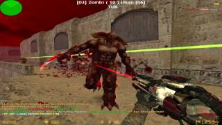 getlinkyoutube.com-Counter Strike 1.6 - Zombie Escape - [NEMESIS MOD] | World War'Z
