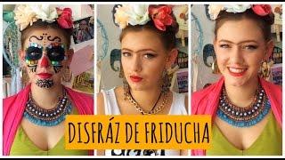 getlinkyoutube.com-Disfrazate de Frida Kahlo | 3 ideas! | DIY