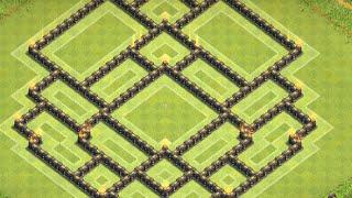 getlinkyoutube.com-Clash of Clans: Townhall 9 Dark Elixir Farming Base ll TH 9 Base ll Early Feb. 2015