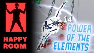 getlinkyoutube.com-Striking With The Power of the Elements! - Happy Room Gameplay Highlights