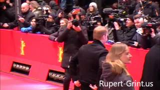 RG.us Exclusive: Rupert Grint Berlinale 2013 Red Carpet 1