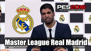 getlinkyoutube.com-PES 2016 Master League Real Madrid Transfer