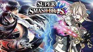 Super Smash Bros BAYONETTA & CORRIN Reveal Trailer (Final DLC - Wii U)