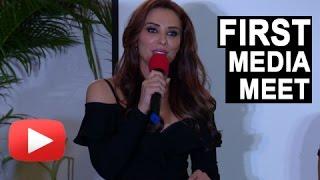 getlinkyoutube.com-Salman Khan's Girlfriend Iulia Vantur's FIRST EVER Media Event | Every Night And Day | UNCUT