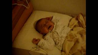 Baby Has Nightmare and Screams while Asleep.