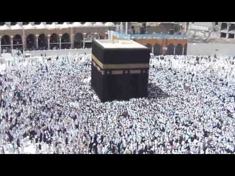 Most Beautiful View of Kaaba from Top, Baytullah Al-Haram Makkah-Tul Mukarrama