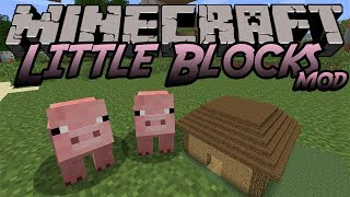 getlinkyoutube.com-【MinecraftMOD紹介】小さいブロックが置ける/Little Block MOD