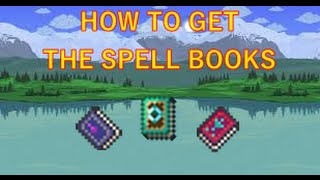 getlinkyoutube.com-Terraria HOW TO GET ALL THE SPELL BOOKS! (fixed)