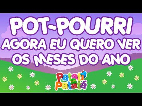 Patati Patatá - Pot-Pourri Agora eu Quero Ver / Os Meses do Ano - (DVD No Mundo Encantado)