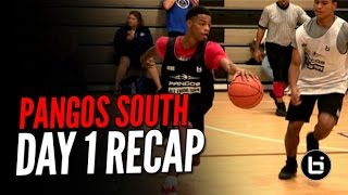getlinkyoutube.com-Pangos Frosh/Soph All South Camp Day 1 Highlights! Tyrese Maxey, Avery Anderson, & More
