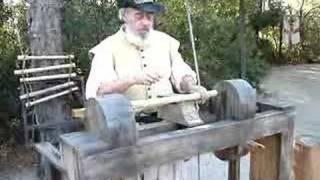 getlinkyoutube.com-Using a Lathe, Circa 1585