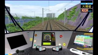 getlinkyoutube.com-OpenBVE HD: MTR Kinki Sharyo SP1900 EMU East Rail Line Cab Ride (Lo Wu to Hung Hom)