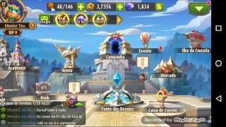getlinkyoutube.com-Magic Rush Heroes - Com conseguir diamantes