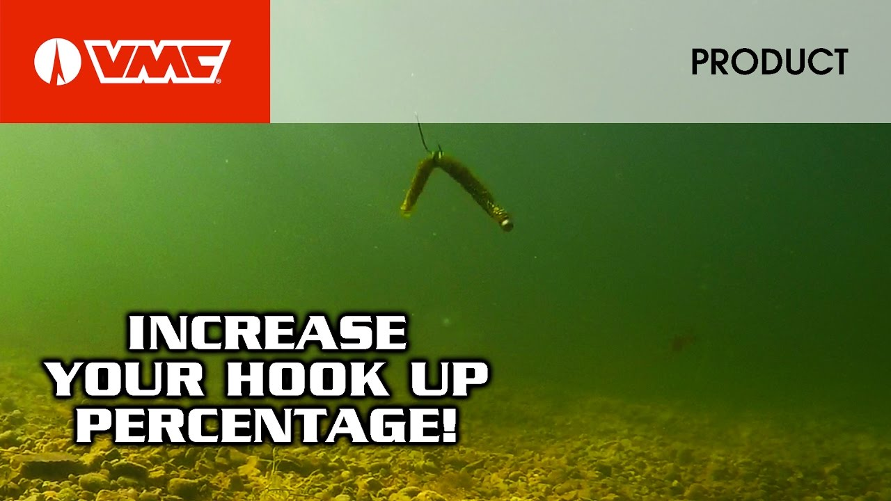 How to fish vmc neko hook and half moon weight bass for Neko rig fishing