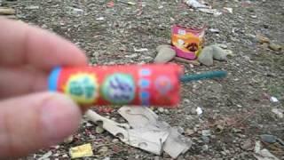 getlinkyoutube.com-Red Flash Bomb Firecracker - Muckleshoot 2010