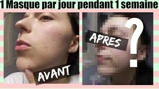 getlinkyoutube.com-JE TESTE : UN masque par JOUR pendant UNE SEMAINE