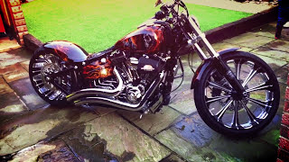 getlinkyoutube.com-Best Custom of Harley Davidson Breakout Softail FXSB