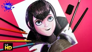 getlinkyoutube.com-HOTEL TRANSYLVANIA 2/ How to draw Mavis / Como dibujar a Mavis