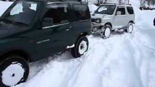 getlinkyoutube.com-雪遊び。