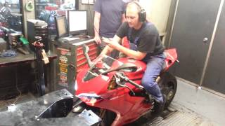 getlinkyoutube.com-2012 Ducati 1199S ABS Panigale with TERMIGNONI Dyno Run 177HP 90 ft/lb Torque 190MPH Top Speed