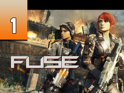 Fuse Gameplay Walkthrough - Part 1 Hyperion Base Let's Play Commentary