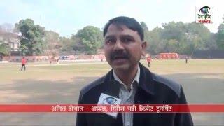 शहीद गिरीश भद्री क्रिकेट टूर्नामेंट का 14वां मैच टाई