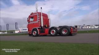 getlinkyoutube.com-Oldskool Scania v8 loud Pipes sound Film Mix  - Truckstar Festival 2016
