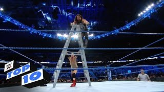 Top 10 Smackdown LIVE Moments: WWE Top 10, Nov. 22, 2016