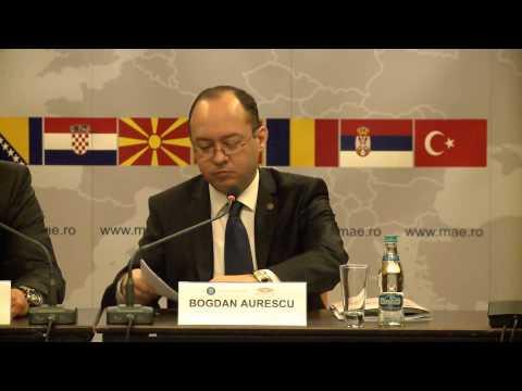 Participarea ministrului Bogdan Aurescu la conferinţa RACVIAC dedicată securităţii energetice