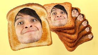 DEGOBOOM ES UN PAN !! SOY UNA TOSTADA 😂😂 - I Am Bread