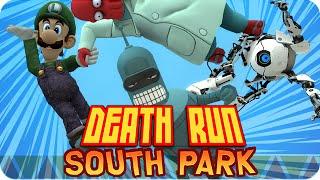 getlinkyoutube.com-DEATHRUN SOUTH PARK! | Garrys Mod Death-Run con Exo, Macundra, Sarinha y Luh