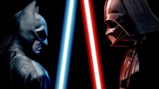 getlinkyoutube.com-BATMAN vs DARTH VADER - ALTERNATE ENDING - Super Power Beat Down