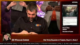 getlinkyoutube.com-Pro Tour Dragons of Tarkir: Day One Draft with William Jensen