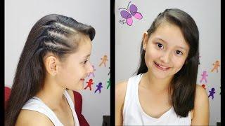 getlinkyoutube.com-Trenzas Inspiradas en las Celebridades - Celebrity Hair | Peinados Faciles | Peinados Toda Ocasion