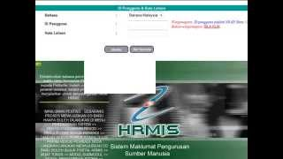 getlinkyoutube.com-Login ke HRMIS
