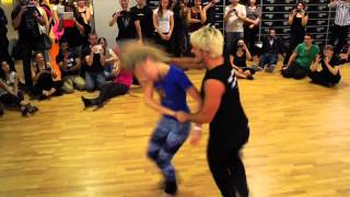 getlinkyoutube.com-Kamacho & Anastasia | Zouk Workshop Demo | 2nd Dutch Zouk Congress Breda | 2013 - Day 02