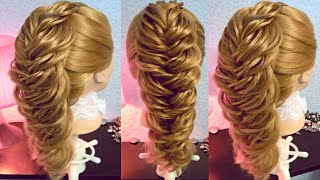 "getlinkyoutube.com-Коса ""рыбий хвост"" - объёмная - 2 - Hairstyles by REM"