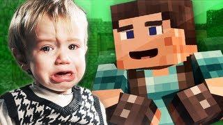getlinkyoutube.com-Little Kid TROLLED in Minecraft