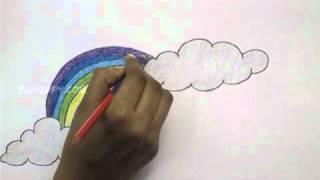 getlinkyoutube.com-How to Draw Rainbow