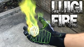How to Make: Luigi Fire Glove Prototype / DIY Trench Lighters - GreekGadgetGuru