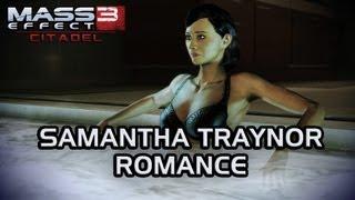 getlinkyoutube.com-Mass Effect 3 Citadel DLC: Samantha Romance (All scenes)