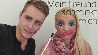 getlinkyoutube.com-Mein Freund schminkt mich ♥ ( My boyfriend does my makeup )