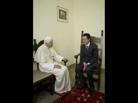 Pope visits his former butler in prison and grants pardon