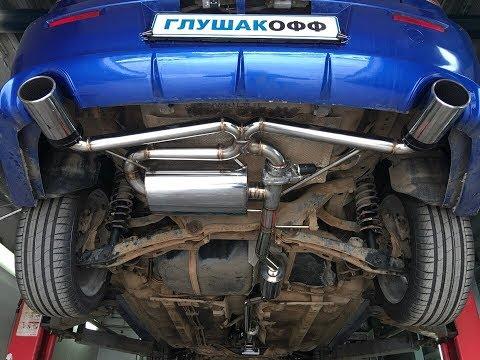 Тюнинг выхлопа Mitsubishi Lancer X Razvolution