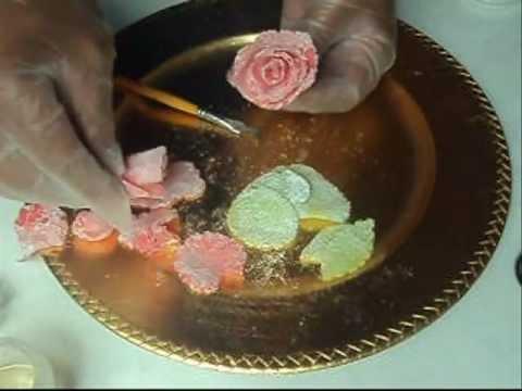 Rosa Com Balas de Goma