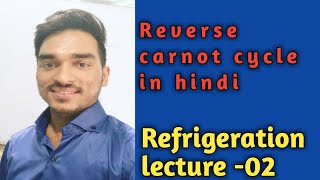 Reverse Carnot Cycle in hindi