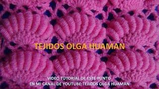 getlinkyoutube.com-punto a crochet para colchita de bebe