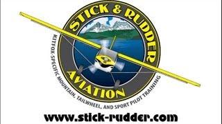 getlinkyoutube.com-Kitfox, KitFox Aircraft, John McBean, Stick and Rudder Aviation, taildragger flight training.